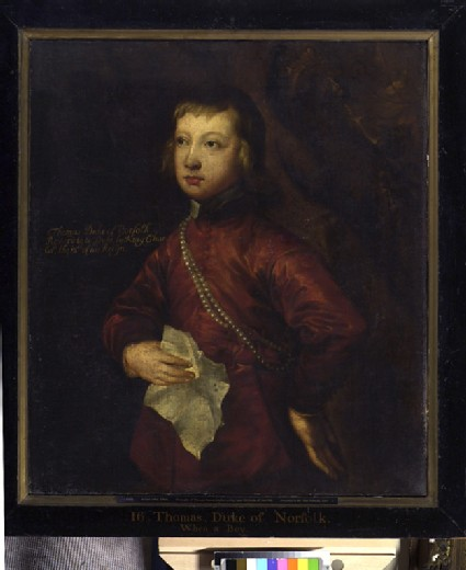 Thomas Howard, later Fifth Duke of Norfolk, when a Boy