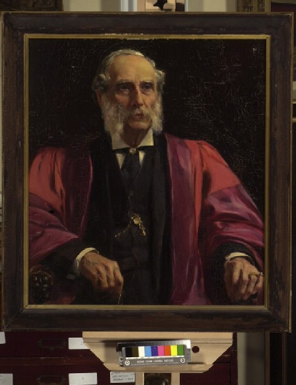 Portrait of Charles Drury Edward Fortnum