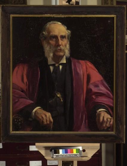Portrait of Charles Drury Edward Fortnum
