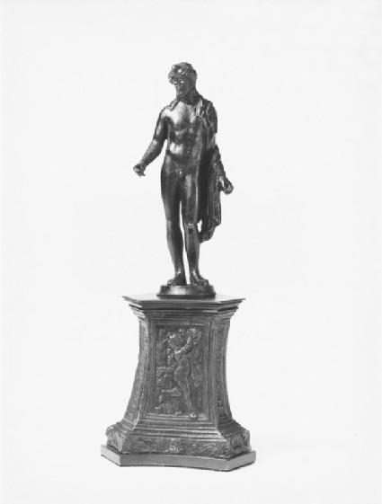 Male standing figure, probably Apollo