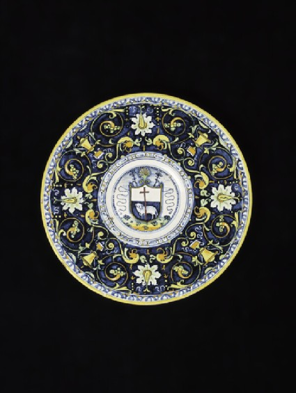 Plate with the Agnus Dei (Lamb of God)