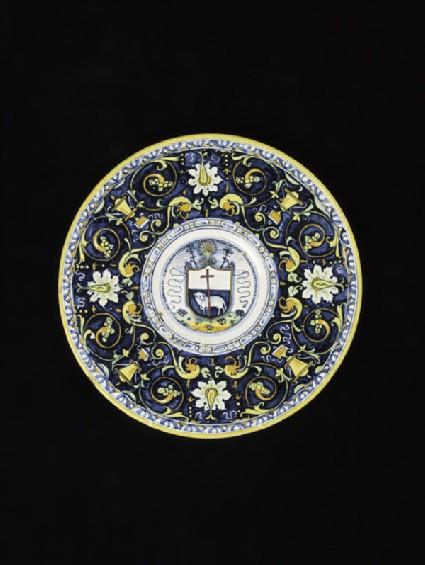 Plate, the Agnus Dei