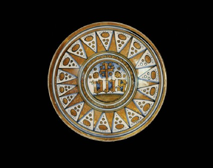 Plate with The Sacred Trigram