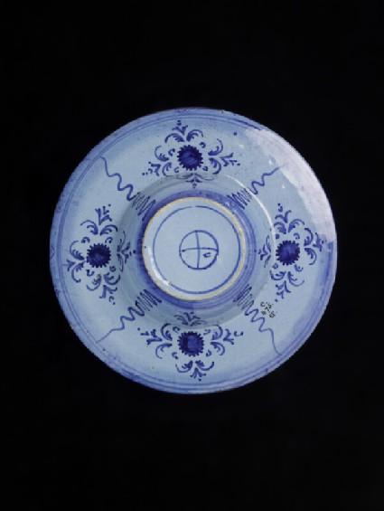 Plate with arms of Bindo Altoviti and or his wife Fiammetta Soderini