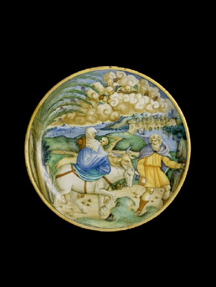 Bowl with the Flight into Egypt