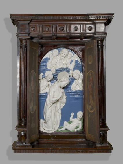 Tabernacle with the Adoration of the Christ Child