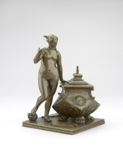 Inkstand with an allegory