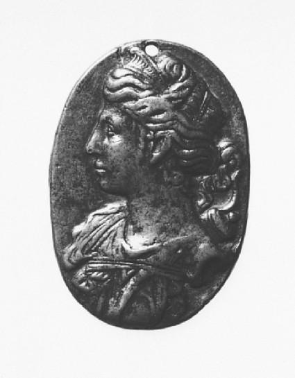Portrait bust of Diana