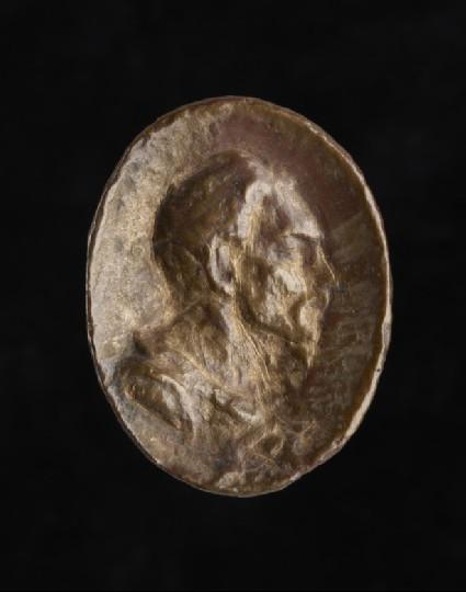 Portrait bust of Attila