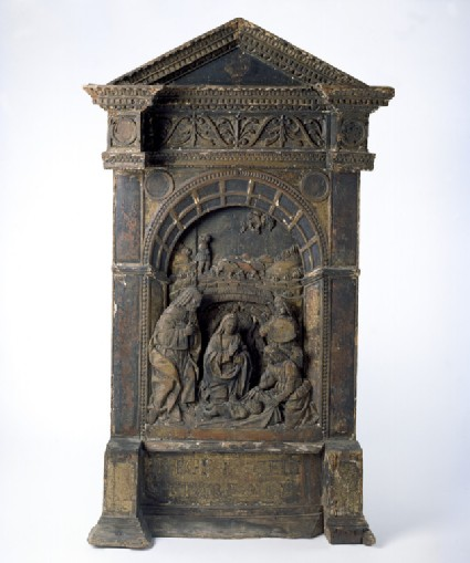 Tabernacle altarpiece with the Nativity
