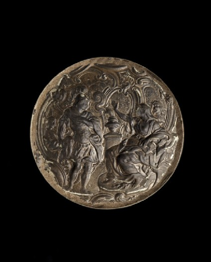 Mould with Aeneas and the Cumean Sibyl