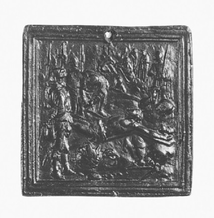 Christ nailed to the Cross