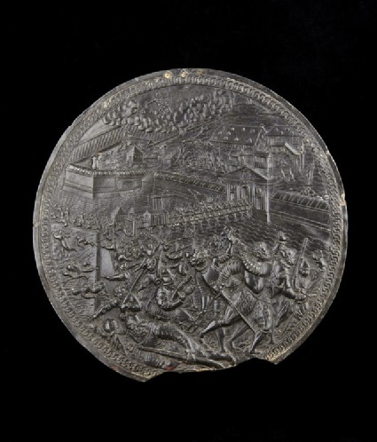 The Liberation of Antwerp depicting The Oath of the victorious generals