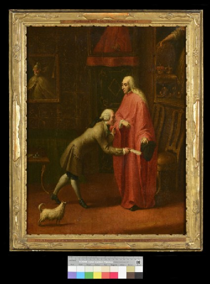 A Procurator of San Marco receiving a Petition