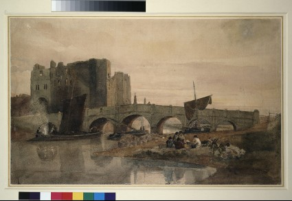 Newark Bridge and Castle, Nottinghamshire