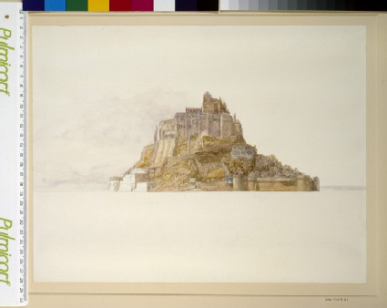 Mont St Michel from the Sands