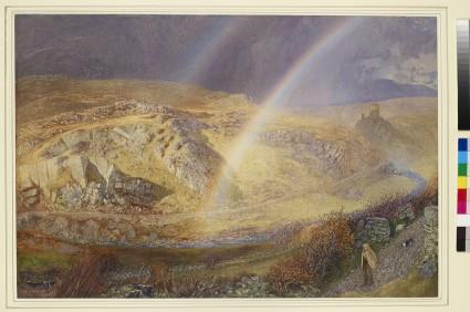 A November Rainbow, Dolwyddelan Valley, November 11, 1866, 1 p.m. 1866