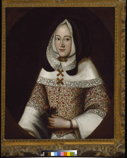 Jane, first Wife of John Tradescant the Younger