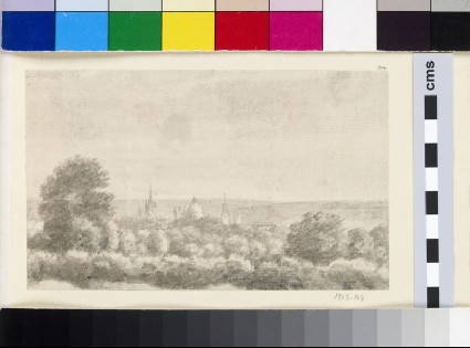 Distant View of Oxford