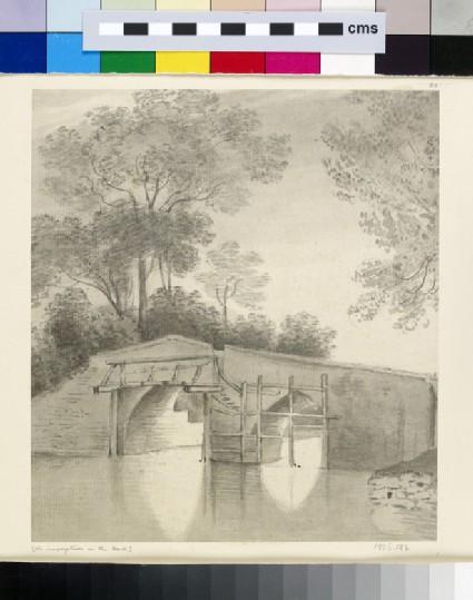 Godstow Bridge under Repair