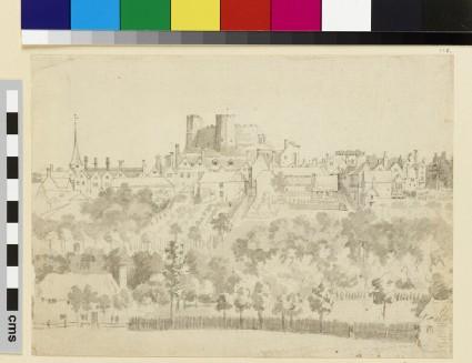 A Hillside Town (Lewes)