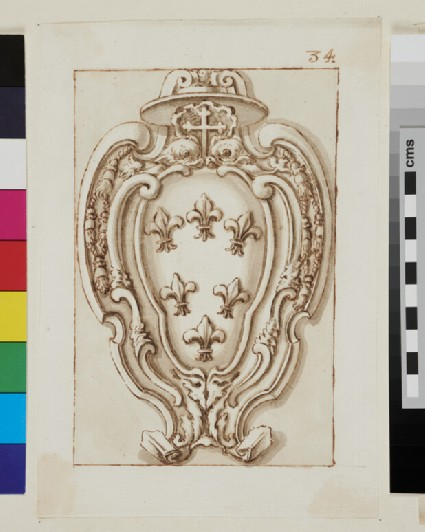 Design of the arms of the Farnese family