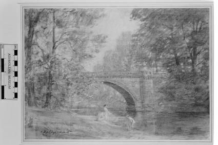 A River Spanned by a Bridge