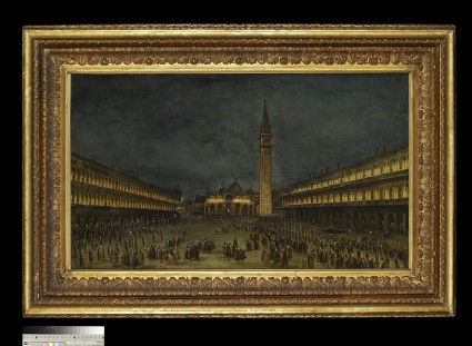 A Night Procession in the Piazza San Marco