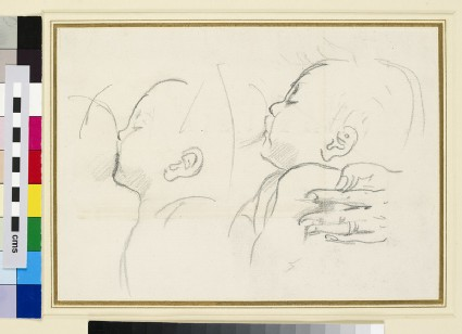 Two Studies of an Infant suckling