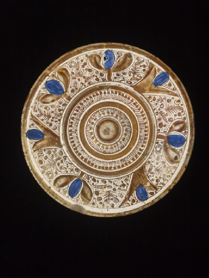 Plate (ewer stand)
