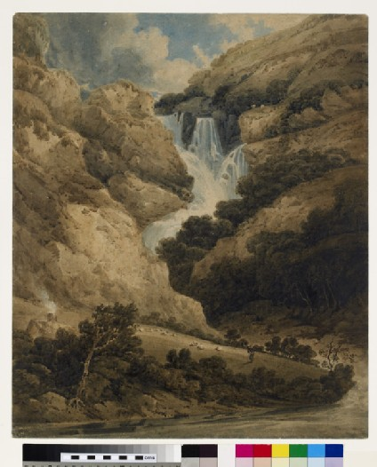 The Falls of the Ogwen, North Wales