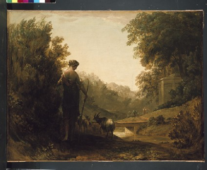 Classical Landscape with a Goatherd