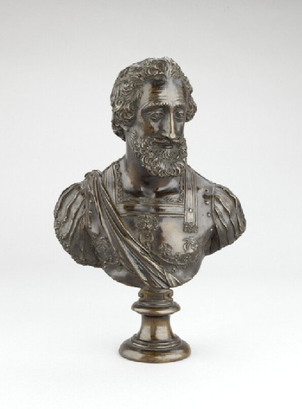 Portrait bust of King Henri IV of France