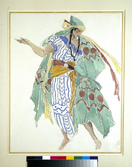 Costume design for a male dancer