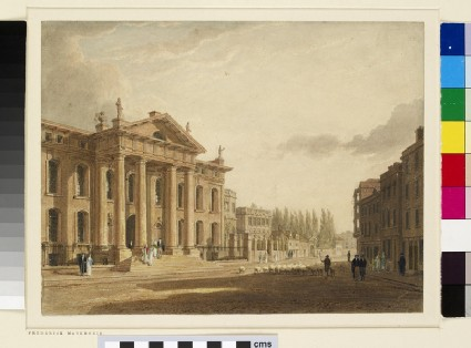 View of the Clarendon Building and Broad Street