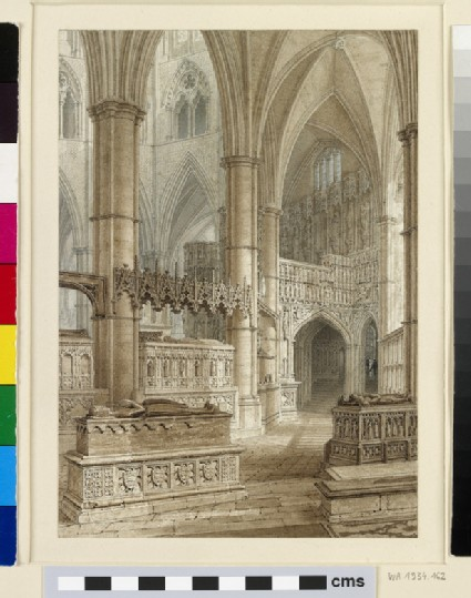 Interior of Westminster Abbey from the South Aisle