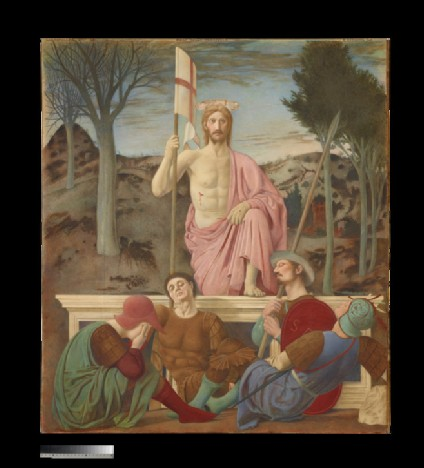 The Resurrection (after Piero della Francesco)