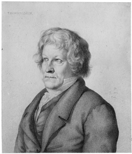 Portrait of Bertel Thorvaldsen