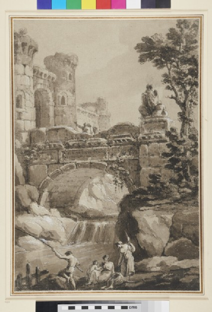 Capriccio with a Bridge