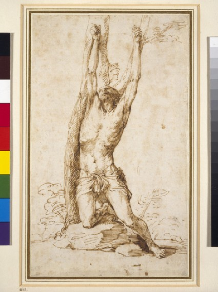 Study for St Sebastian