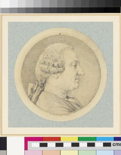 Portrait of Baron von Holbach