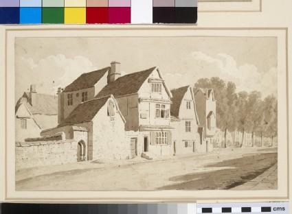 Old Houses near Balliol College, Oxford