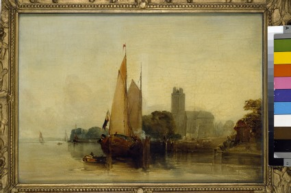 River Scene near Dordrecht