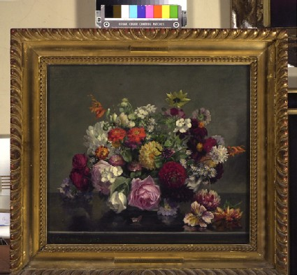 Still Life: a Bowl of mixed Flowers