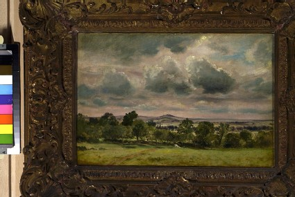 View of Hampstead looking towards Harrow
