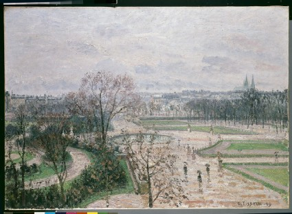The Tuileries Garden in the Rain