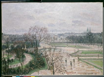 The Tuileries Garden in the Rain