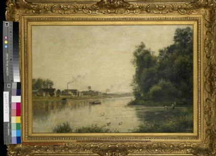The Seine at Saint-Ouen