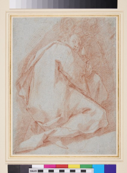 Figure Study, possibly of St John the Evangelist
