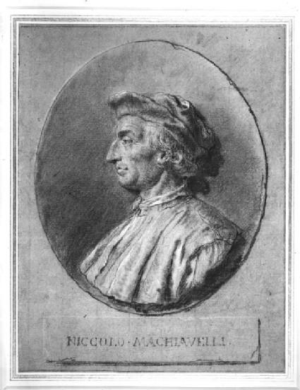 Medallion Portrait of Niccolò Machiavelli (1469-1527)